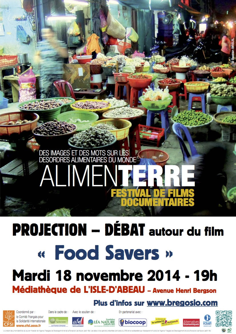 Projection - Débat du film « FOOD SAVERS »